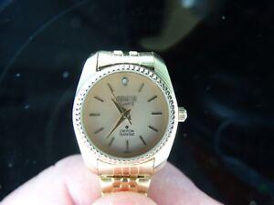 Croton Manhattan Quartz Ladies Watch Diamond Accent Works Well Ebay