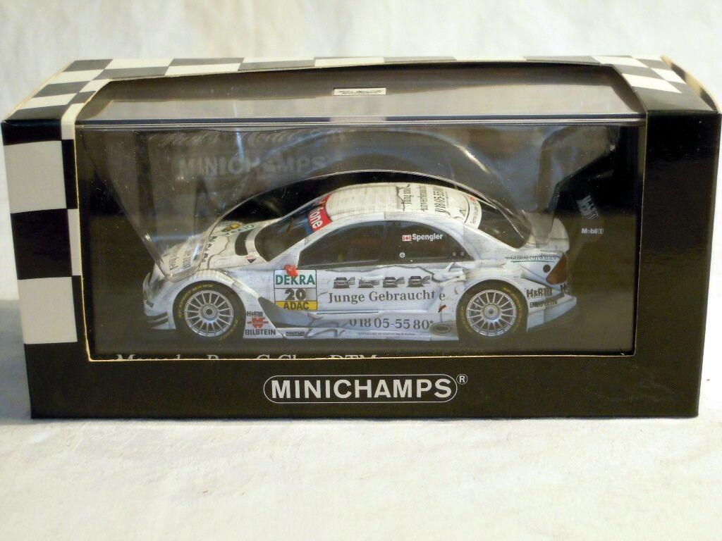 Minichamps 400053520  Mercedes-Benz C-Class, DTM 2005, B. Spengler, NEU