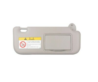 Sun Visor Makeup Mirror Left Driver Side Gray for Toyota Corolla 09 10 11 12 13