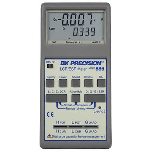 bk precision 886 synthesized in circuit lcr esr meter ebay