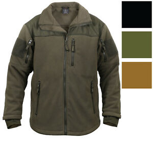 Image is loading Spec-Ops-Tactical-Fleece-Jacket-Full-Zip-Military- e3c28b4a297