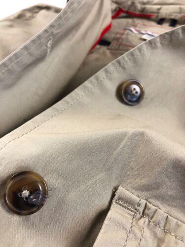 TOMMY HILFIGER Jacket Women/'s Cotton Stretch Khaki Lightweight Roll Sleeve