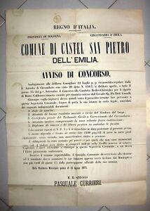 X281-BOLOGNA-CASTEL-S-PIETRO-CONCORSO-CONDOTTA-MEDICA-1875