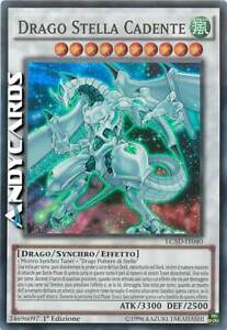 DRAGO STELLA CADENTE • (Shooting Star Dragon) • Super R • LC5D IT040 • Yugioh!