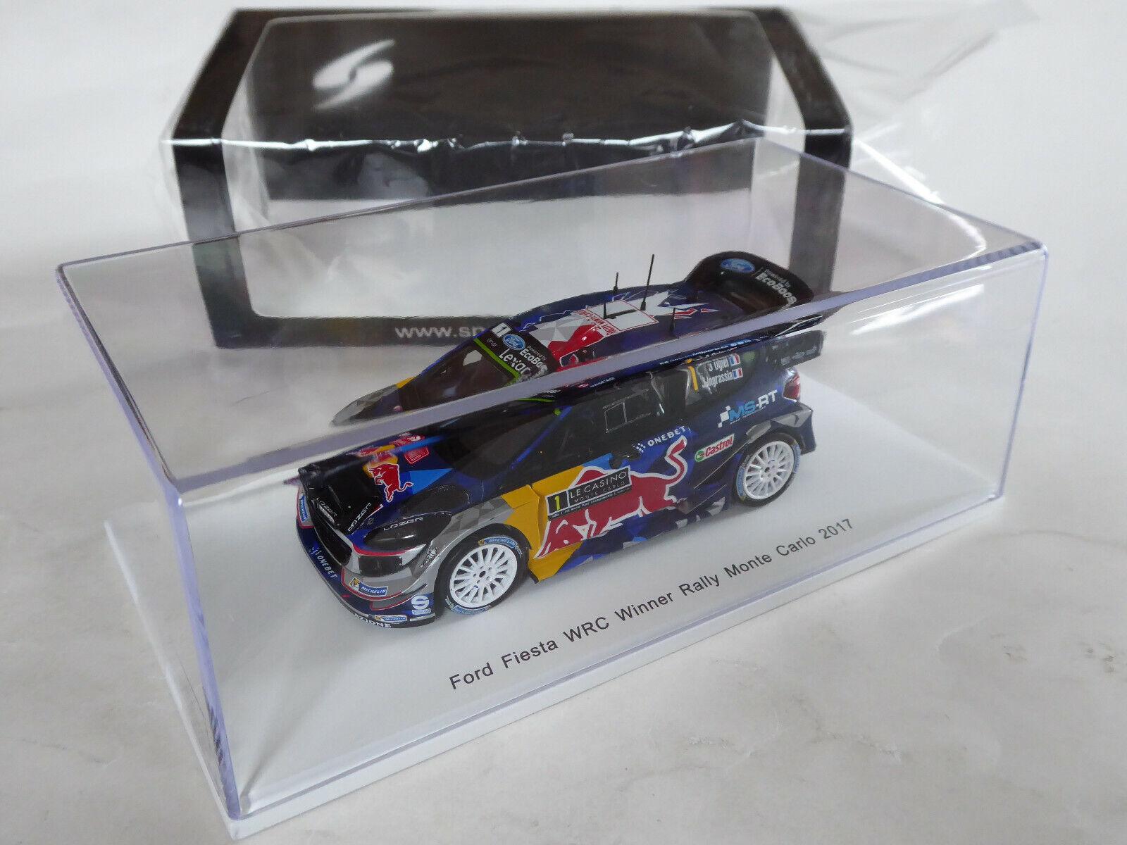 Spark 1 43 Ford Fiesta WRC M-SPORT  OGIER WINNER RALLY MONTE voitureLO 2017 OVP S5154  en stock