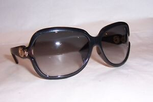 4833bd9c4b009 NEW CHRISTIAN DIOR DIORISSIMO 2 F N S 2ZY-Q8 BLACK GRAY SUNGLASSES ...