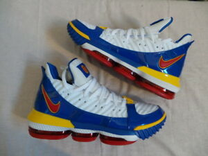 fb9b578a230 Nike Air Zoom LeBron James XVI 16 III 3 PE Watch Superman size 11 DS ...