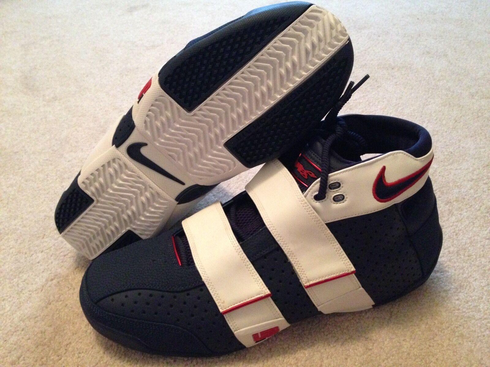 Nike Lebron 20-5-5 USA Alternate PE Sz 16 Rare Promo Sample Player Exclusive