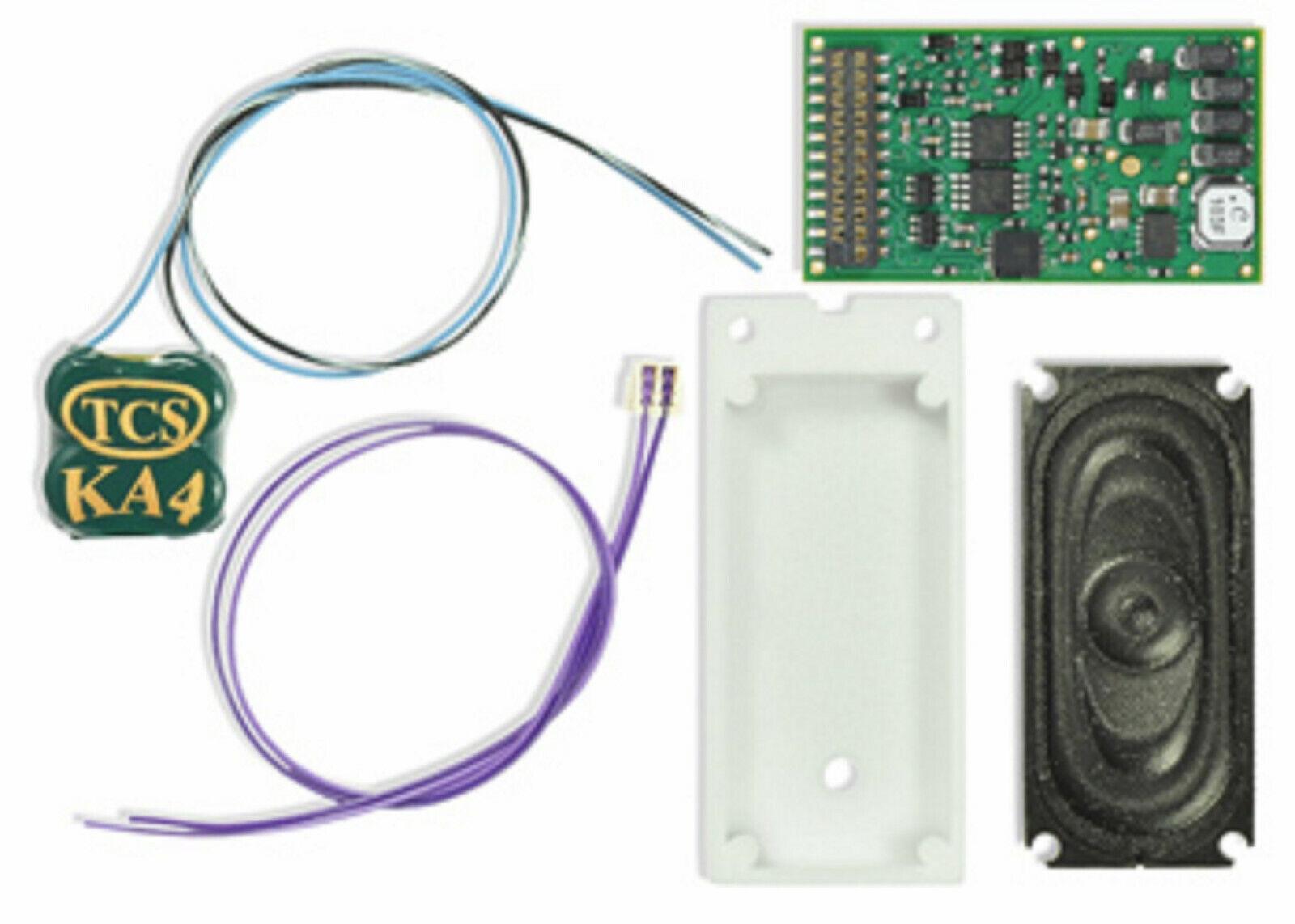 I sistemi di controllo del treno STC 1740 WDKBOW3 WOW HO Bowser C636 DCCsuono Decodificatore