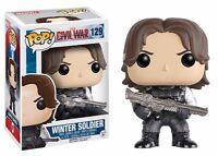 Funko Pop Captain America 3 Civil War Winter Soldier Vinyl Action Figure on sale