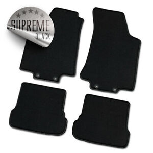 Auto-Fußmatten Supreme schwarz für VW Passat 35i / 3A (B3 und B4) 1988 - 1997