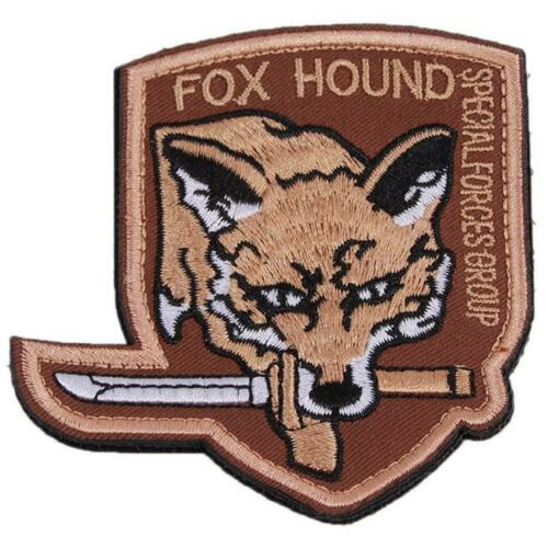 Fashion Metal Gear Solid Fox Hound Fox Special Force Group Patch Decor QK