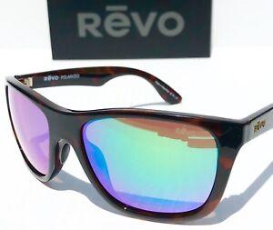 0b7b01c428 NEW! REVO OTIS Tortoise frame w POLARIZED Green Lens Sunglass 1001 ...