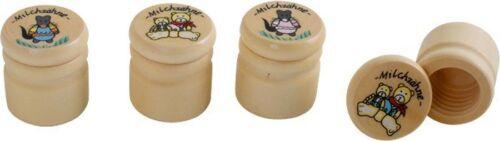 Scatola porta primo dentino in legno Espositore//display set da 12 pezzi