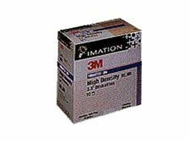 Primaris 2HD High Density Diskette 10-3.5 Inch IBM Formatted Data Storage Media