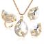 Women-Heart-Pendant-Choker-Chain-Crystal-Rhinestone-Necklace-Earring-Jewelry-Set thumbnail 53