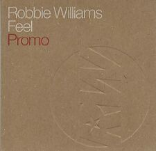 ROBBIE WILLIAMS Feel w/ RARE EDIT PROMO DJ CD Single 03