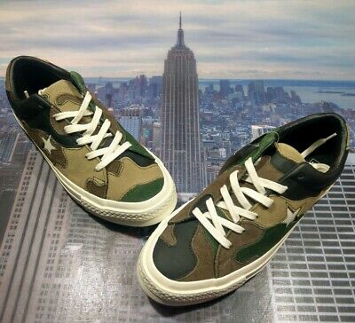 Converse x Sneakersnstuff SNS One Star Ox Low Top Camo Mens Size 7 161406c New | eBay