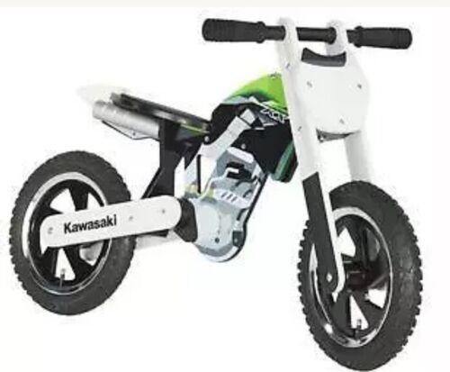 NEW GENUINE KAWASAKI NINJA KX450 KIDDIMOTO BALANCE BIKE MOTORBIKE  015SPM0042