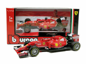 BBURAGO-1-43-2014-FERRARI-FORMULA-1-F1-F14T-7-Kimi-Raikkonen-Model-CAR-WITH-BOX