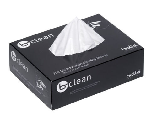 Bolle B401 B Clean Cleaning Tissues For Glasses Spectacles Eyewear 200 Pack