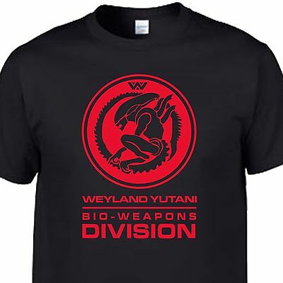 alien aliens movie weyland yutani nostromo prometheus covenant marines  t shirt