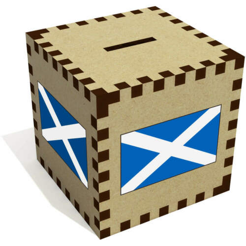 Piggy Banks MB023059 /'Scottish Flag/' Money Boxes