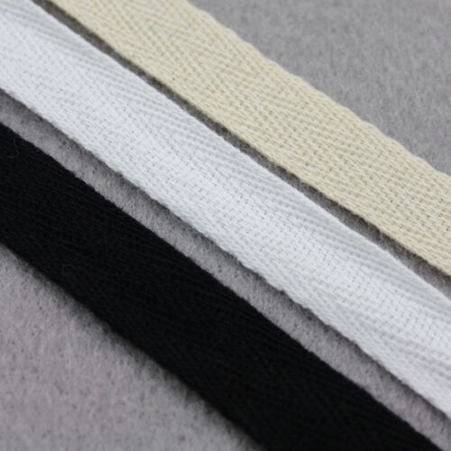 TWILL TAPE *3 COLOURS*8 WIDTHS* SEWING MAKING LIGHT COTTON GOWNS APRONS STRAP