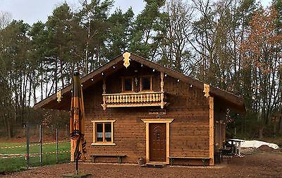 Ferienhaus Holzhaus Blockhaus Gartenhaus Wochenendhaus 10 M X 6