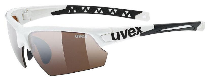 Uvex Fahrradbrille Sportbrille Sportstyle 224 CV Weiß     outdoor 2018 15ae09