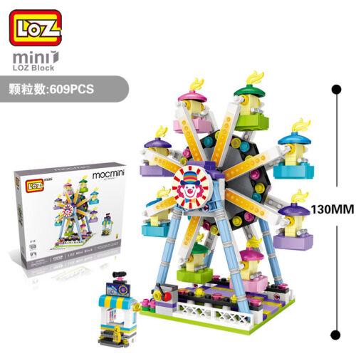 LOZ Ferris Wheel Amusement Park DIY Diamond Mini Building Nano Blocks Bricks Toy