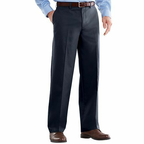 Blue Pants care Classic Men's Front Barrow Easy Croft amp; Fit Flat Navy qAzx16PwwO