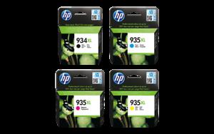 HP 935XL Ink Set 934XL Genuine NEW//SEALED Warranty Date 2017-2019