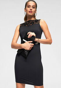 Laura-Scott-Cocktailkleid-schwarz-NEU-KP-59-99-SALE
