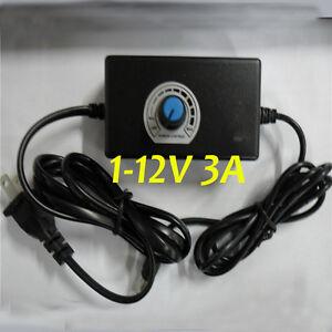 110v 120v Ac Dc Power Adapter 1 12v 3a Supply Motor Speed