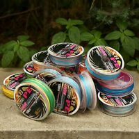 12lb-125lb 8 Strands Multi-color Saltwater Spectra Braided Pe Fishing Line 100m