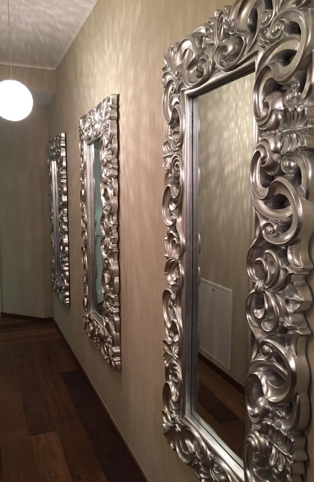 xxl wandspiegel spiegel repro barock antik rechteckig. Black Bedroom Furniture Sets. Home Design Ideas