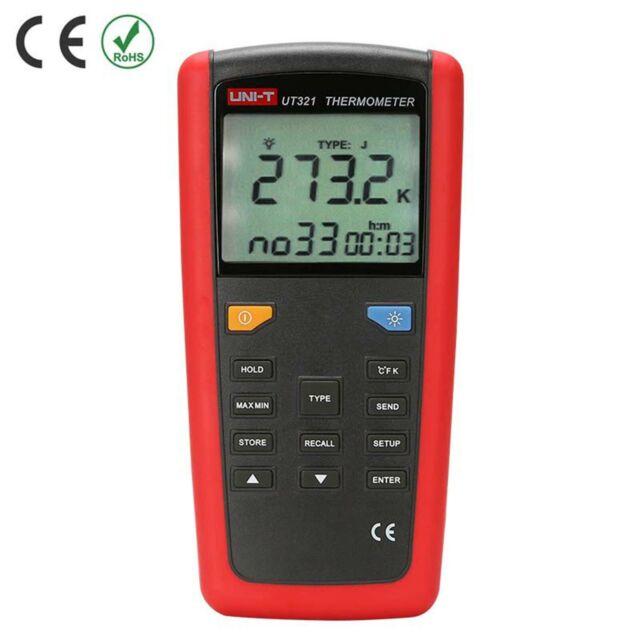 UNI-T UT321 Contact Type Thermometer precise temperature measurement USB●H