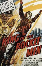 King of the Rocket Men - Cliffhanger Serial DVD  Tristram Coffin Mae Clarke