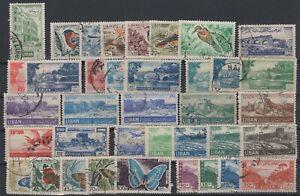 G139332/ LEBANON – YEARS 1946 - 1965 USED SEMI MODERN LOT
