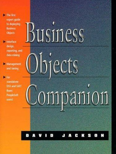 Business Objects Companion by David Jackson