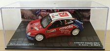 CITROEN XSARA WRC ARGENTINA 2004 SAINZ 1:43 RALLY COLLECTIBLE DIECAST CAR - IXO