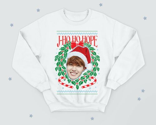 J-Espoir Drôle Noël Pull Pull 2019 unisexe Kpop Noël HO espoir Jung HO-Seok