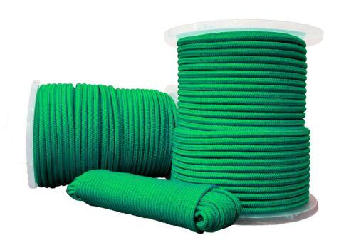 Polypropylen seil Polypropylenseil PP Tauwerk Geflochten Grün 10mm 50m
