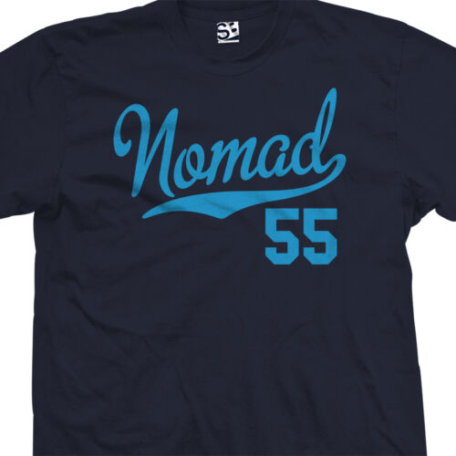Nomad 55 Script Tail T-Shirt All Sizes /& Colors 1955 Classic Lowrider Tee