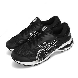 Asics-Gel-Kayano-26-Black-White-Men-Running-Training-Shoes-Sneakers-1011A541-001