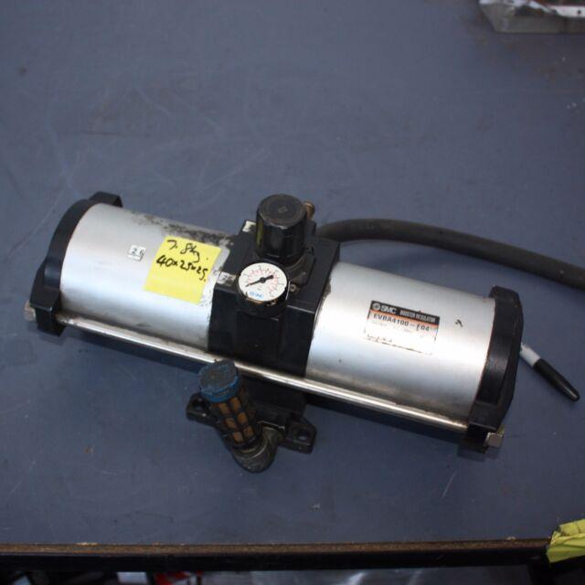 SMC EVBA4100-F04 Pneumatic Booster Regulator PNEUMATIC AIR