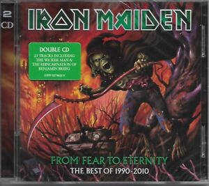 IRON-MAIDEN-From-Fear-To-Eternity-2CD-Best-Of-1990-2010-Heavy-Metal-EU