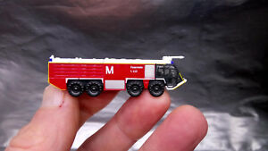 Herpa-558853-Airport-Fire-Engine-x-1-Munich-Airport-1-200-Scale-Ready-made