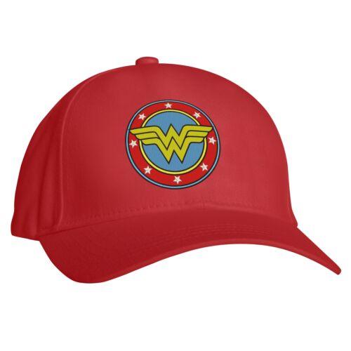 Mujer Maravilla Liga De La Justicia Gorra de béisbol regalo de cumpleaños bordado PAC